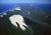 フレーザー島 ワビー湖