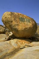 ポール・クルーガー元大統領の石碑