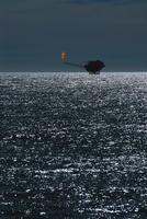 南大西洋 天然ガスプラットホーム