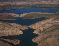 キンバリー地域 タルボット湾 水平の滝  32240002917| 写真素材・ストックフォト・画像・イラスト素材|アマナイメージズ