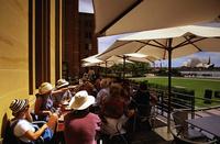 シドニー現代美術館のカフェ