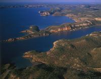キングレオポルド山地西部 空撮