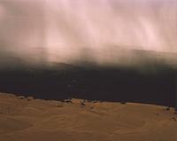 ナンバング国立公園に降る豪雨