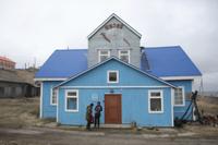 Museum in coastal settlement, Nikolskoye, Bering Island, Com 32259003391| 写真素材・ストックフォト・画像・イラスト素材|アマナイメージズ