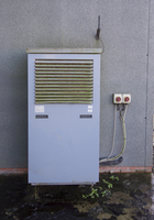 Pig farming, air source heat pump, first to be used on pig u