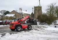 自動除雪車