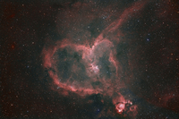 IC1805 ハート星雲