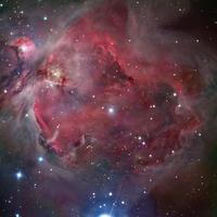 M42 オリオン星雲 32268000084| 写真素材・ストックフォト・画像・イラスト素材|アマナイメージズ