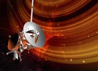 土星の輪を回る衛星 32268000093| 写真素材・ストックフォト・画像・イラスト素材|アマナイメージズ