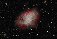 かに星雲 M1 牡牛座の残留である超新星