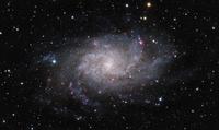 三角座の渦巻銀河 M33