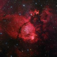 IC 1795 または NGC 896 カシオペア座の発光星雲 32268000128| 写真素材・ストックフォト・画像・イラスト素材|アマナイメージズ