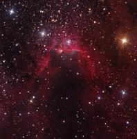 洞窟星雲 Sh2-155