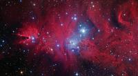 コーン星雲とフォックスファー星雲