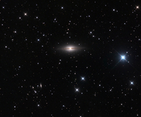 ペガサス座の渦巻星雲 NGC 7814 32268000134| 写真素材・ストックフォト・画像・イラスト素材|アマナイメージズ