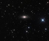 �y�K�T�X���̉Q�����_�@NGC 7814