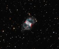 小亜鈴状星雲 M76 32268000143| 写真素材・ストックフォト・画像・イラスト素材|アマナイメージズ