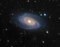 大ぐま座の渦巻銀河 M81