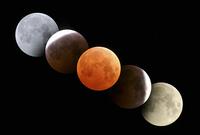 皆既月食  32268000157| 写真素材・ストックフォト・画像・イラスト素材|アマナイメージズ