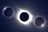 皆既日食シリーズ  32268000161| 写真素材・ストックフォト・画像・イラスト素材|アマナイメージズ