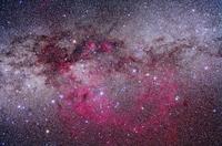 はほ座ととも座のガム星雲