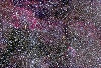 ハクチョウ座の星雲 NGC 6888, IC 1318