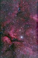 IC 1318 白鳥座ガンマ星とバタフライ星雲