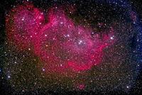 カシオペア座の星雲 IC 1848 32268000191| 写真素材・ストックフォト・画像・イラスト素材|アマナイメージズ