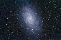 M33 さんかく座銀河 32268000202| 写真素材・ストックフォト・画像・イラスト素材|アマナイメージズ