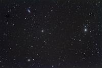 M87とM58  かみのけ座・おとめ座銀河団
