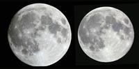 近地点の月 1992年2月、遠地点の月 1992年7月
