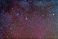 船尾座の散開星団 NGC 2477とNGC 2451