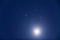 プレアデス星団 M45の下の金星