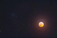 皆既月食 32268000232| 写真素材・ストックフォト・画像・イラスト素材|アマナイメージズ