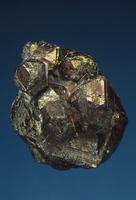 黄鉄鉱の結晶