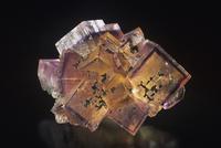 蛍石の結晶 (CaF2)