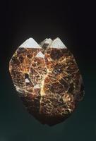 ジルコンの結晶