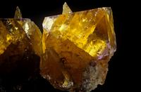 黄蛍石の結晶