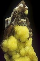 ジョージアイトの中の水硼酸石