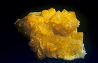 カドミウム菱亜鉛鉱の結晶