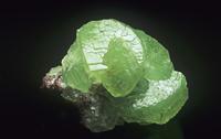 菱亜鉛鉱の結晶