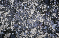 マグネタイトやロードストーンの結晶、アイロン、米国ニューヨーク州の重要な鉱石。