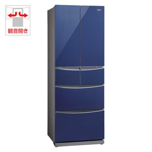 アクア 400L 6ドア冷蔵庫(サファイヤブルー)AQUA AQR-FG40B-A