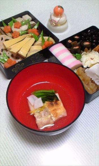 1お正月お雑煮レシピ簡単