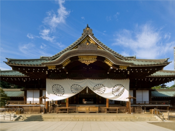 東京初詣神社靖国神社
