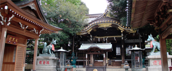 東京初詣神社豊川稲荷東京別院