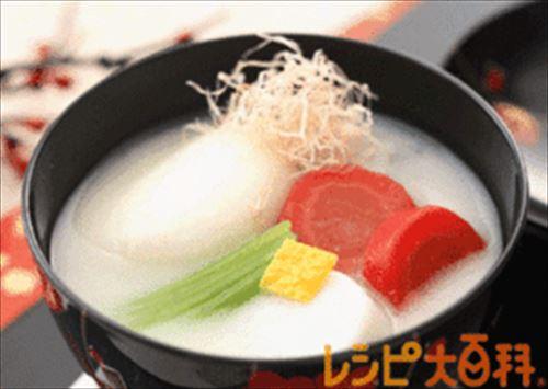 72お正月お雑煮レシピ簡単