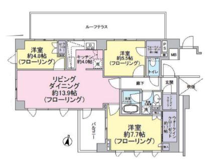 クラッシィハウス桜新町2