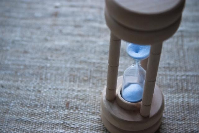 急な転勤2 砂時計