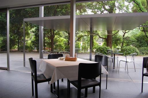 東京国立博物館ホテルオークラ ガーデンテラス